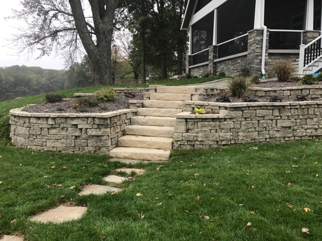Lakefront Project 9 6 17 Maxedon Landscaping Outdoor Solutions